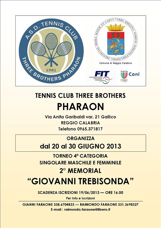 Torneo di Tennis Quarta Categoria