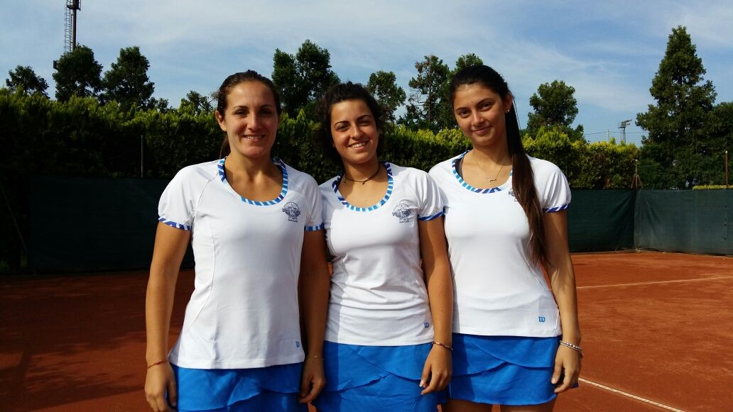 Lara Meccico, Irene Lavino e Livia Turiano