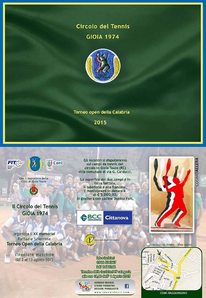 C.T. Gioia 1974 Open2015