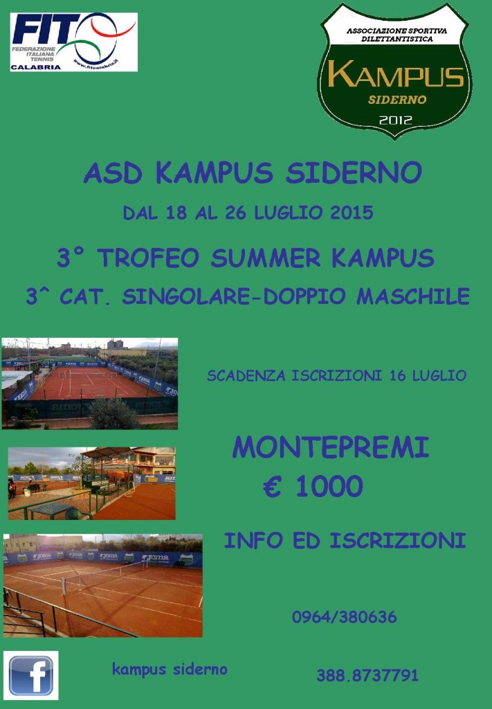 III TROFEO SUMMER KAMPUS 2015