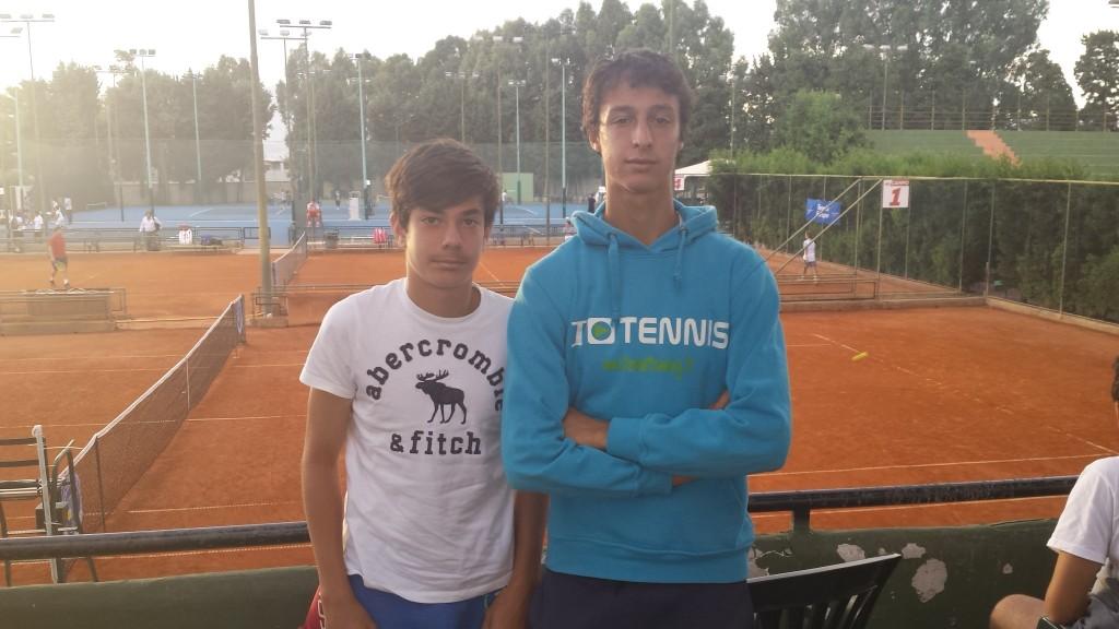 Giulio Zeppieri e Francesco Forti, i due italiani in gara