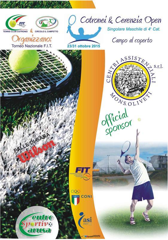 tennis club ottobre 2015