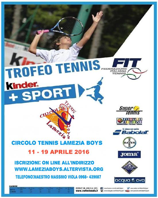 Cover KinderSport CT LAMEZIA