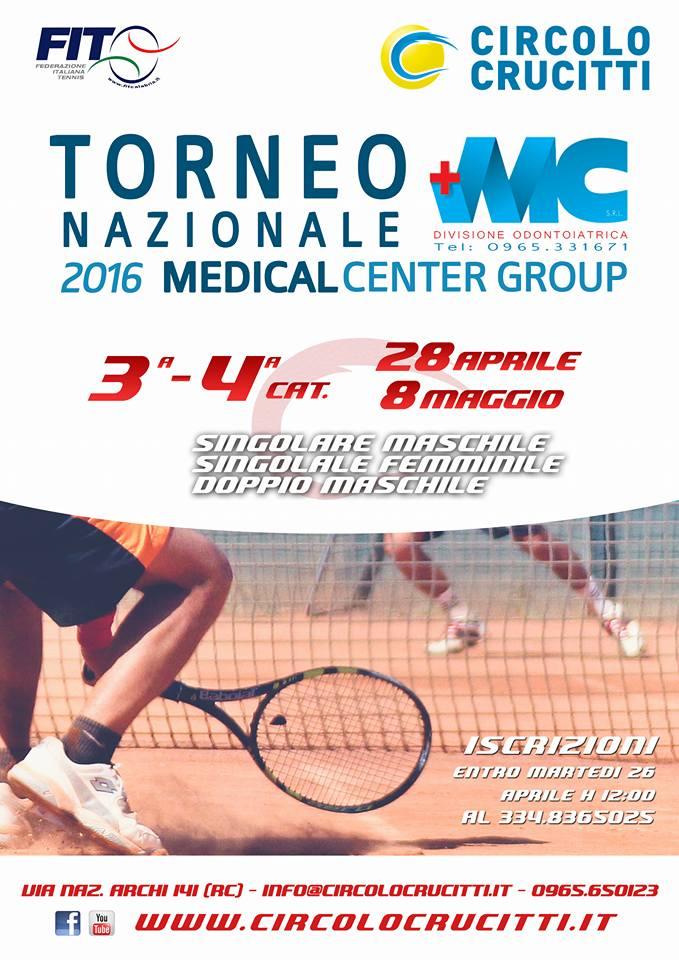 Torneo Crucitti MedicalCenter 2016 3a 4a