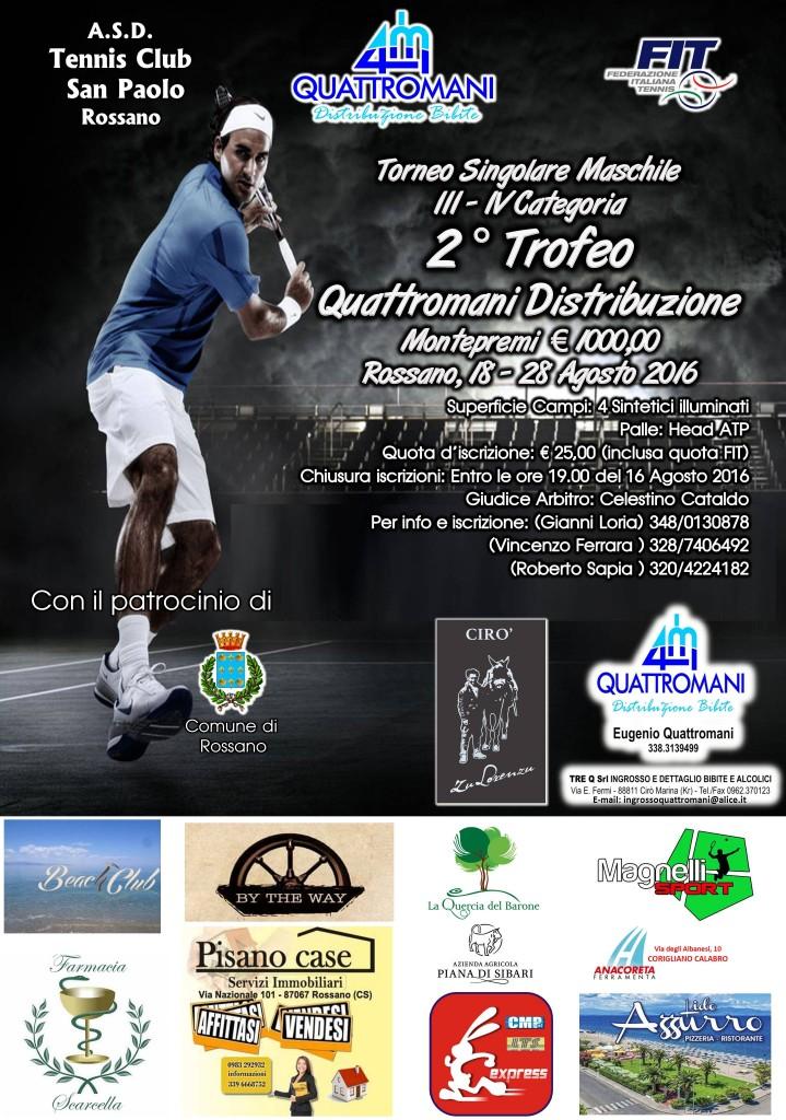locandina tennis san paolo 2016