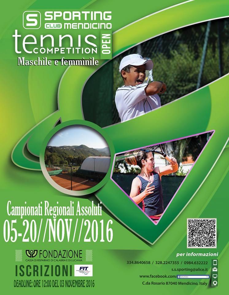 Sp. Club Mendicino Camp. Assoluti Regionali 2016