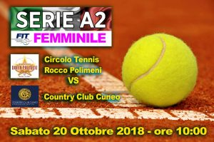 A2 F CT Rocco Polimeni vs Contry Club Cuneo